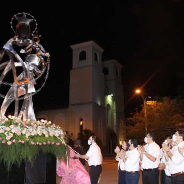 Inauguración Virgen del Rosario