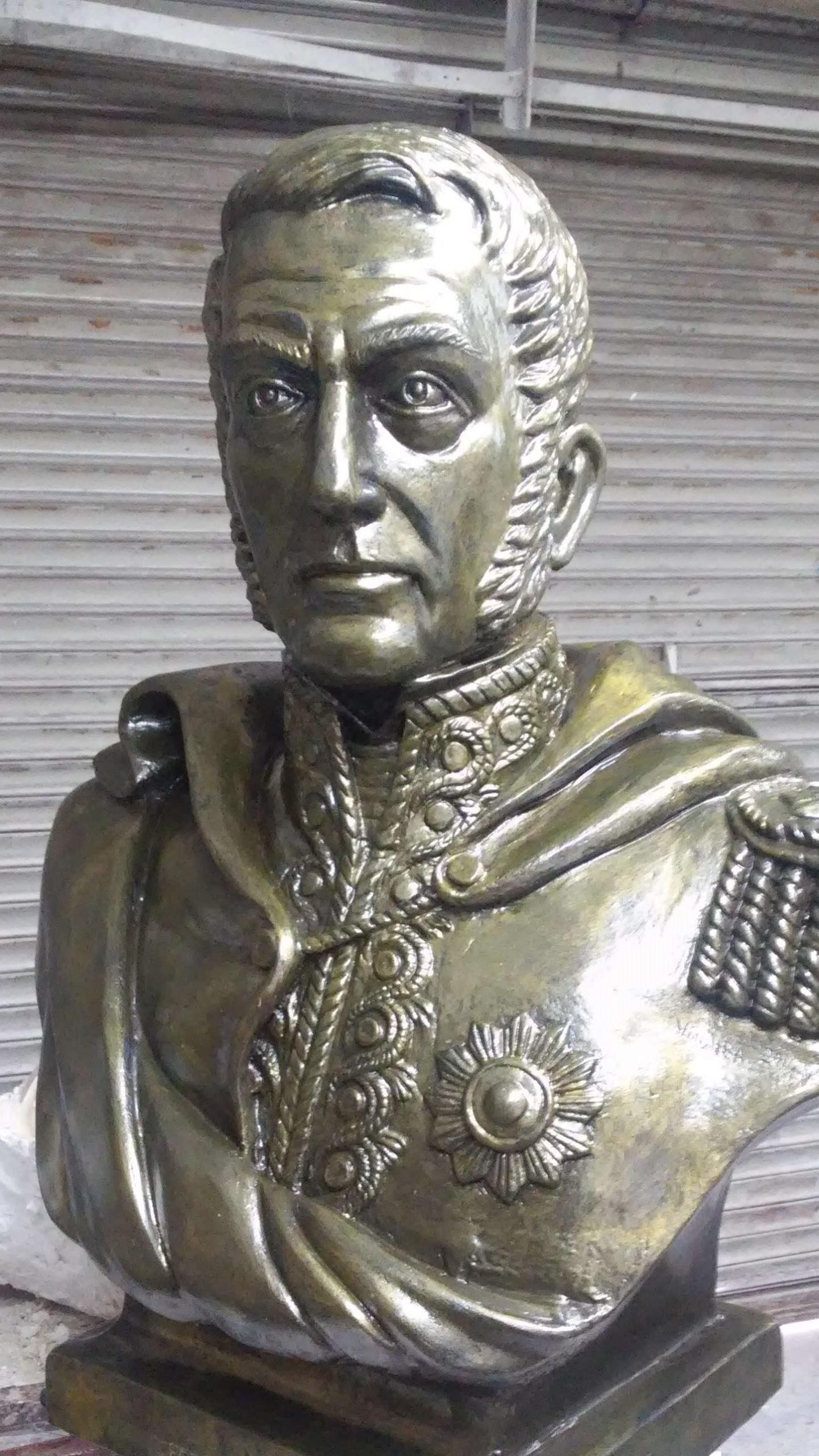 Busto Gral. Don José de San Martín